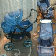 зима-лето коляска для мальчика