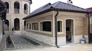 Облицовка фасадов травертином или мрамором
