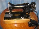 Швейная машина Подольск в тумбе